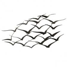 wall ideas design best metal wall birds in flight metal