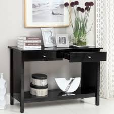 Overstock Sofa Tables Broadway Black Sofa Table Free Shipping Today Overstock Com