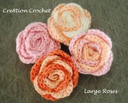 Multi Colored Roses Large Multicolored Roses Allfreecrochet Com