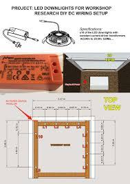 electrical led downlights for workshop home improvement stack