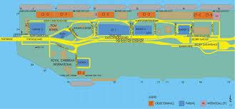 map port miami cruise port guide cruiseportwiki