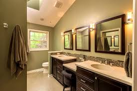 Spanish Style Bathroom by Bathroom Designs Stylized Bathroom Color Schemes Master Paint Gray