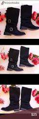 black boots motorcycle rocket dog black suege women u0027s 7 1 2 boots black boots style