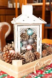 lantern centerpiece diy rustic christmas lantern centerpiece the crafting nook by