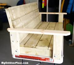 Diy Woodworking Projects Free by Diy 2x4 Swing Myoutdoorplans Free Woodworking Plans And