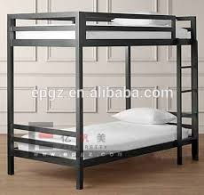 college furniture dormitory student double deck bed with
