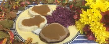 thanksgiving menu recipes recipes for american and german menus