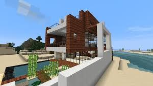 Modern Beach House Minecraft Beach House Small Modern Beach House Schematic