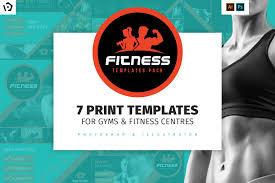 fitness flyer template fitness brochure template pack brandpacks