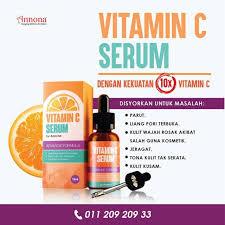 Serum Vitamin C Wajah vitamin c serum annona health skin bath on carousell
