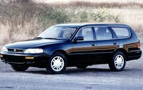 1995 toyota corolla station wagon curbside 1992 96 toyota camry the greatest camry of all
