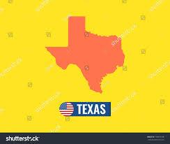 Usa Flag Vector Texas Map Flag Banner Stock Light Rail Map