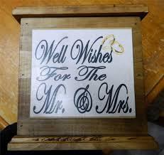 wedding wishing box wooden wishing well wedding card box engagement quality handmade