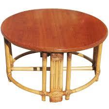 round wicker end table round wicker ottoman coffee table rattan wicker coffee table wicker