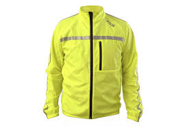 mens hi vis cycling jacket silva mens high visibility hi vis running cycling jackets rrp 60