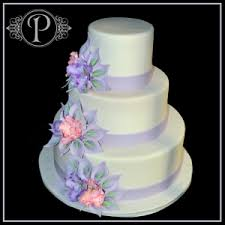 wedding cake lavender gumpaste calla and orchid lavender wedding cake palermo s