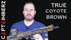 true marine coyote brown spray paint for rifle pistol camo youtube