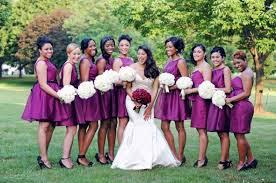 sangria bridesmaid dresses show me your purple berry bridesmaids dresses weddingbee