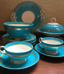 Nautical Themed Dinnerware Sets - english registration marks protecting the authenticity of