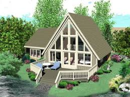 a frame house plans a frame house plan makes ideal vacation home
