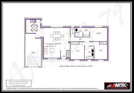 plan maison simple 3 chambres de maison moderne avec 3 chambres