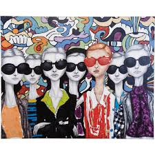kare designs painting sunglasses 90x120cm kare design kare karedesign