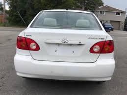 Toyota Asis Car Toyota Corolla Kijiji In Toronto Gta Buy Sell Save