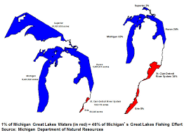 A Map Of Michigan by Fishing For A Blue Economy Crain U0027s Detroit Business
