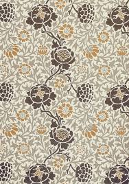 Block Print Wallpaper William Morris Print A Terrific Floral Graphic Based On A Brown