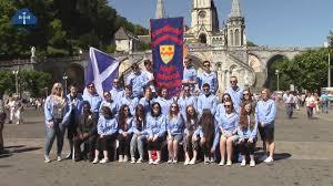 Cardinal Flag Cardinal Newman High Reflections On Lourdes Pilgrimage