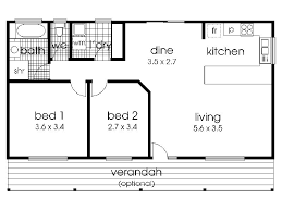 small bedroom floor plans simple house with 2 bedrooms interior design