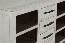 otb white wash 8 drawer kitchen island living spaces