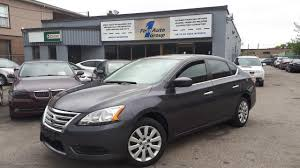 gray nissan sentra 2015 used 2015 nissan sentra s for sale in etobicoke ontario carpages ca