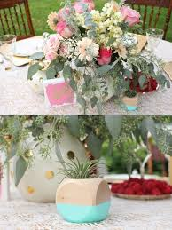 Coral Wedding Centerpiece Ideas by Coral Mint And Gold Wedding Ideas