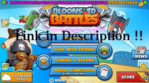btd 4 apk bloons td battles 3 4 4 mod apk unlimited money