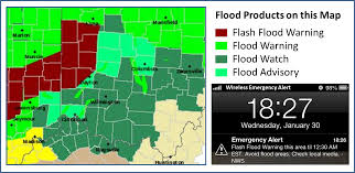 National Weather Forecast Map Nws Flood Safety Home Page