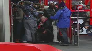 target open on black friday black friday shoppers trampled in new york cnn com