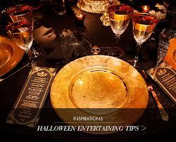 Halloween Entertaining - inspirations halloween entertaining tips atelier isabey the