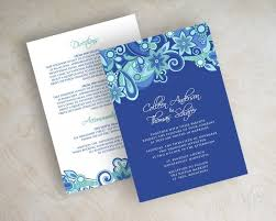 royal blue wedding invitations royal blue wedding invitations for designing the invitations with