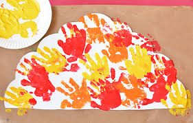 turkey placemats handprint turkey placemat craft for kids i heart arts n crafts
