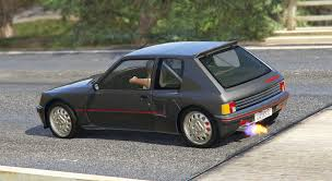 old peugeot cars peugeot 205 turbo 16 add on tuning livery gta5 mods com