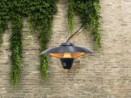 electric patio heater hanging infrared stine
