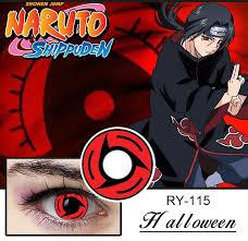 naruto vchiha itachi kakashi sasuke sharingan contact lens red