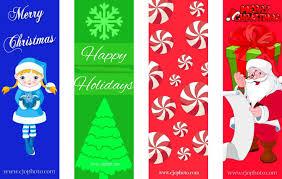 cjo photo free printable bookmarks christmas printables