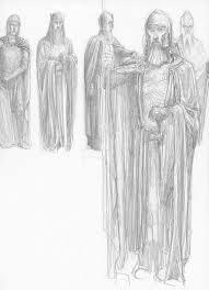 alan lee the lord of the rings sketchbook 13 minas tirith08 jpg
