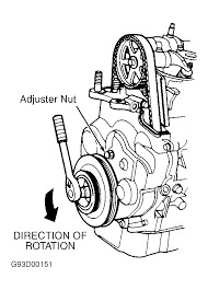 1995 honda accord serpentine belt routing and timing belt diagrams