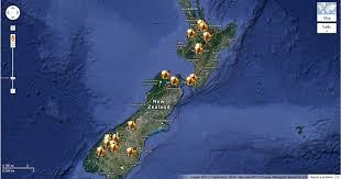 The Hobbit Map Hobbit Locations Google Map Hobbit Movie News And Rumors