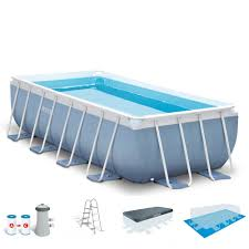 Intex Pool Frame Parts Intex 16 Feet X 8 Feet X 42 Inches Prism Frame Rectangular Pool