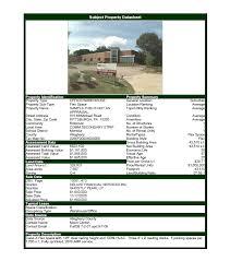 Estate Deal Sheet Template Commercial Estate Software Property Datasheet