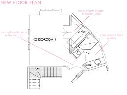 master bedroom and bathroom floor plans